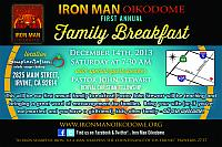 family breakfast promo card 2013 Page 1
